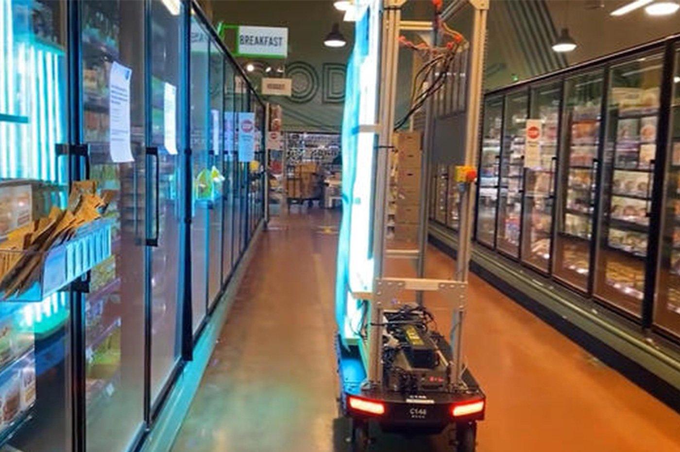 Amazon robot coronavirus