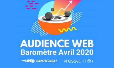 Audiences web avril 2020