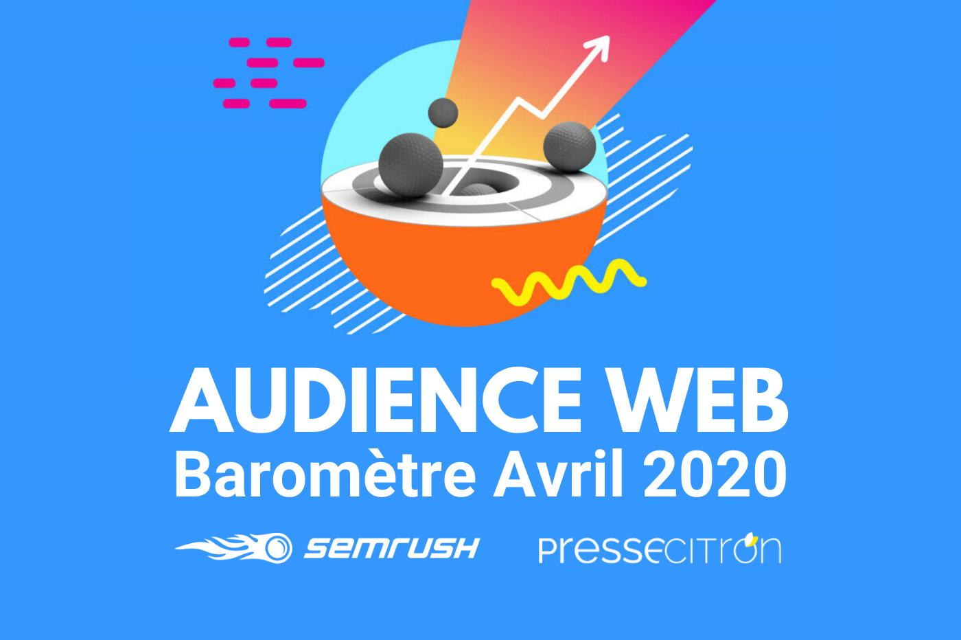 Audiences web avril 2020