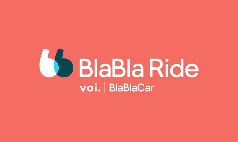BlaBla Ride Voi trottinettes