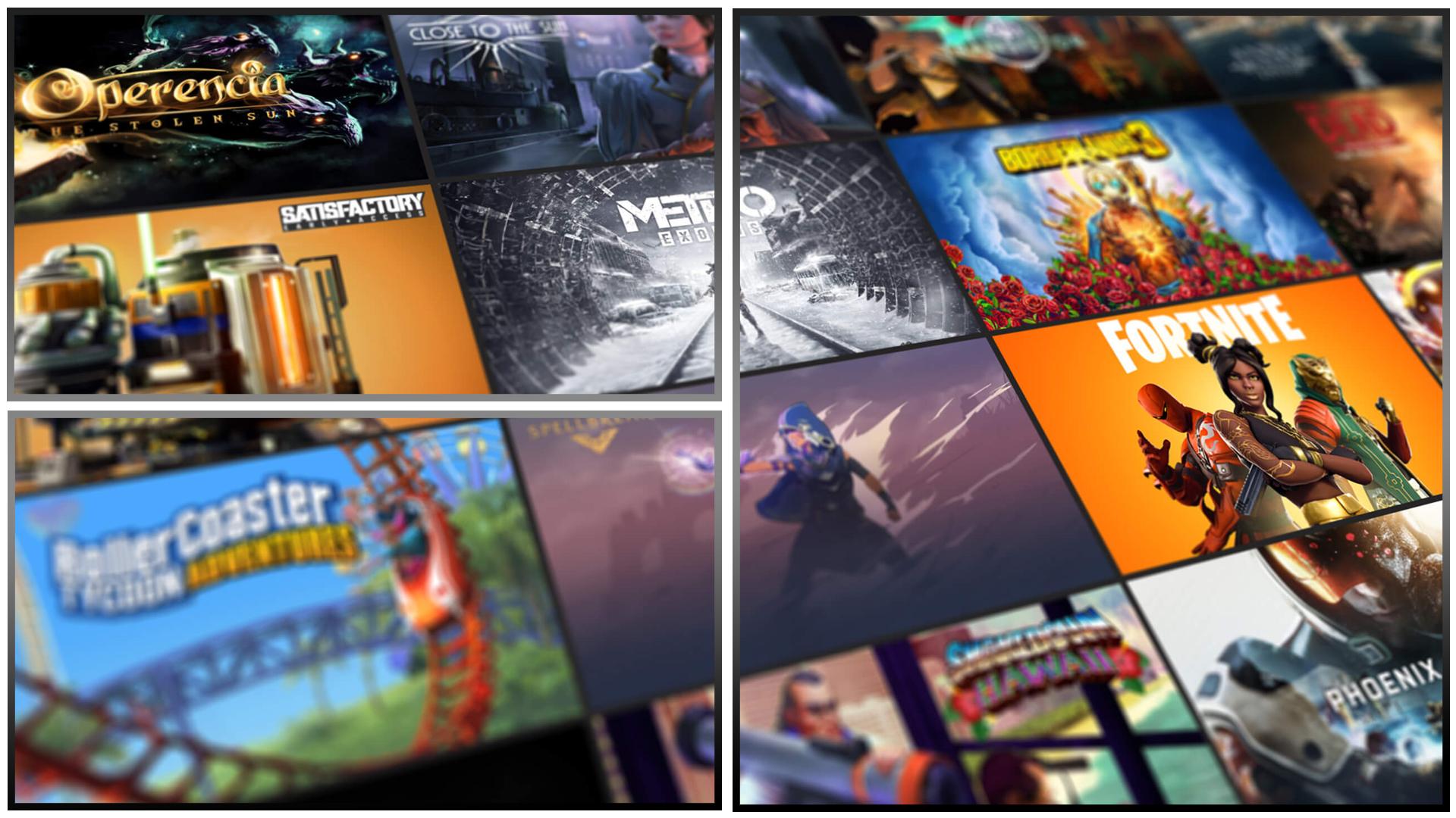 Fiche Epic Games Store