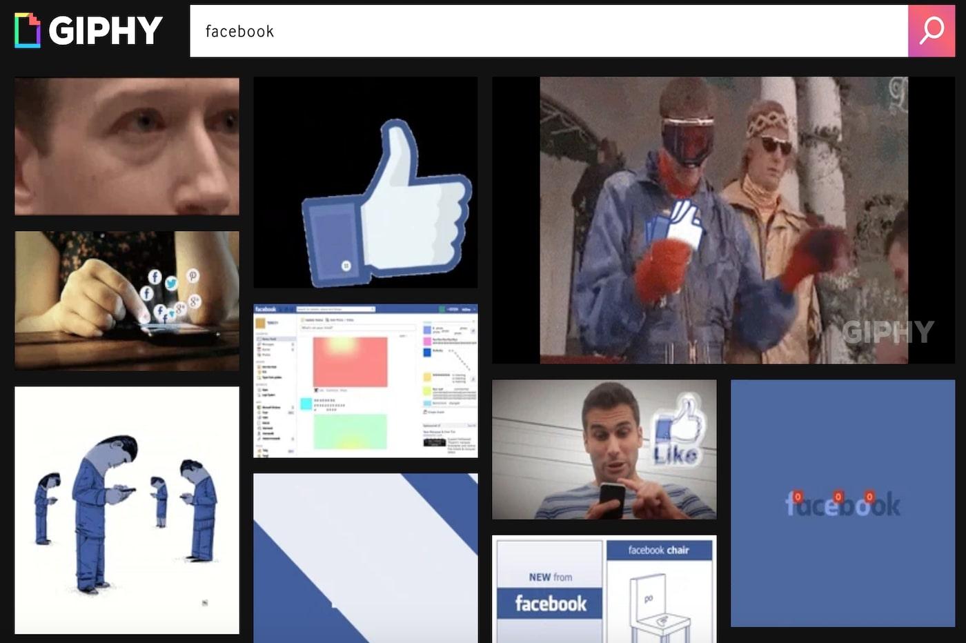 Facebook achète Giphy pour l'intégrer à Instagram