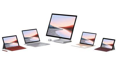 Microsoft Surface gamme