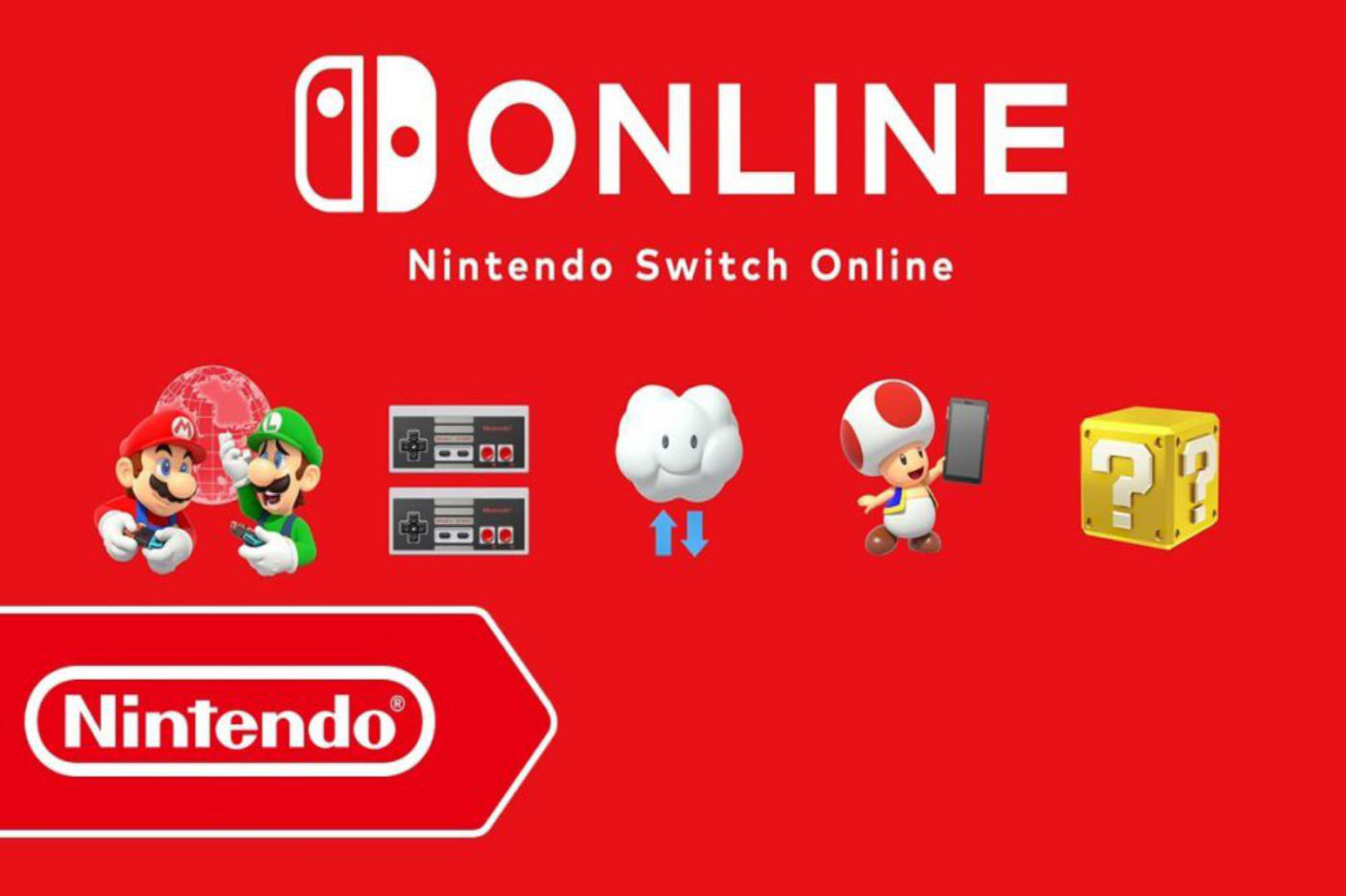 Nintendo Switch Online Wallpaper