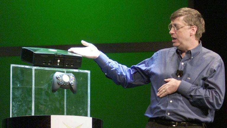 Bill Gates E3 2001 Xbox
