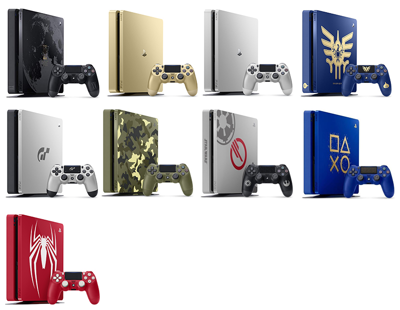 PS4 Slim Collector