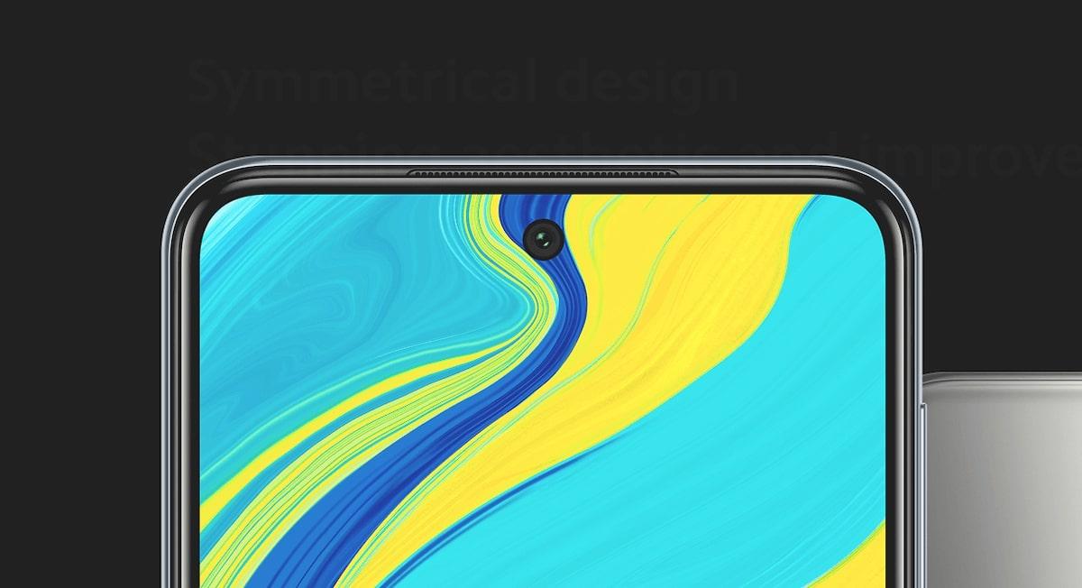 Redmi Note 9S ecran