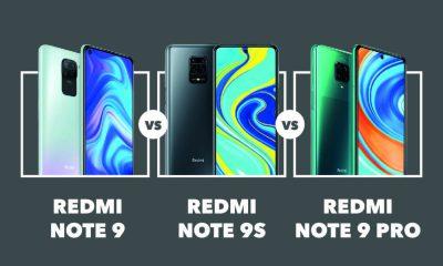 Redmi Note 9 vs Note 9S vs Note 9 Pro