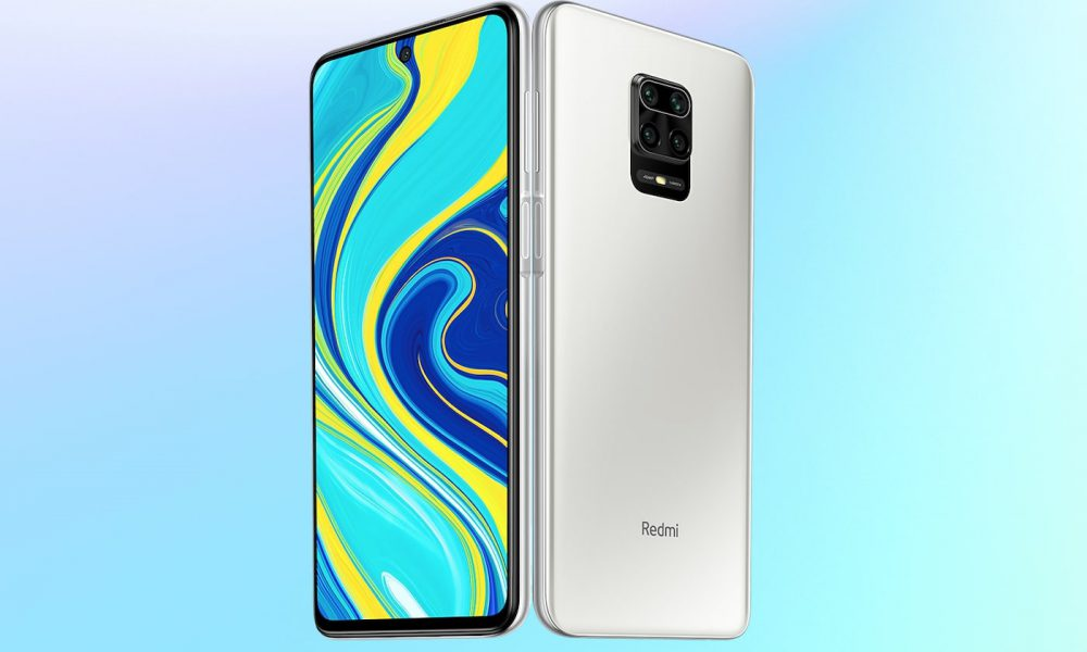 Redmi Note 9S blanc