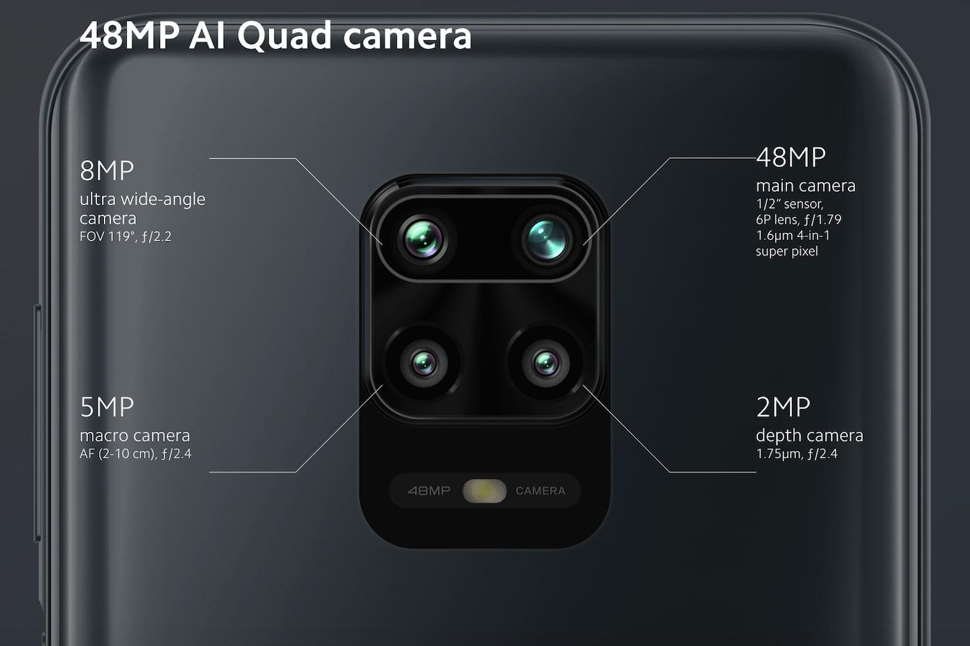 Redmi Note 9S camera