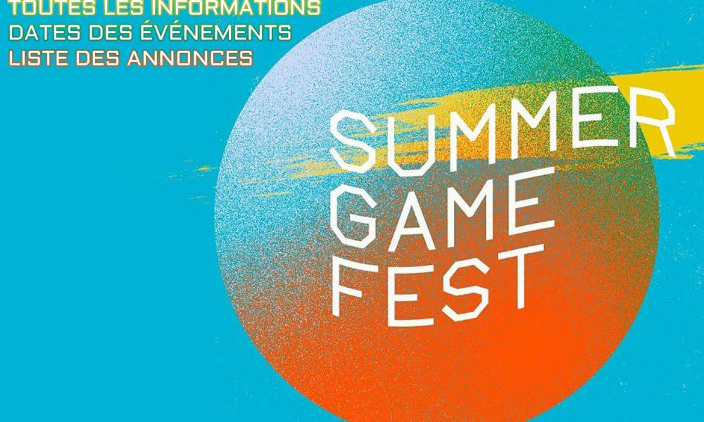 Summer Game Fest : Infos, dates...