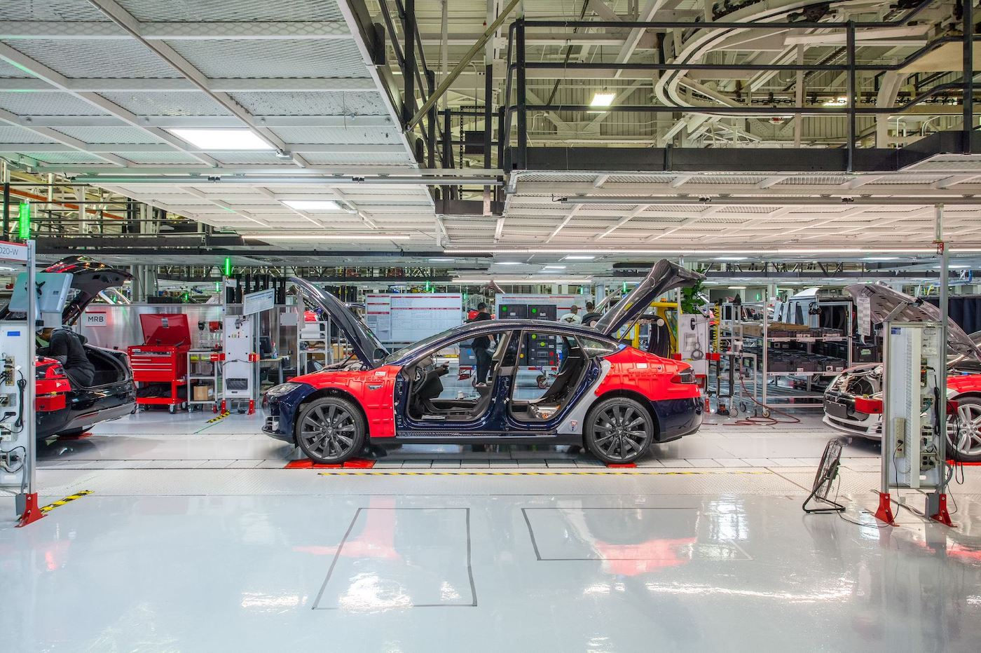 Tesla usine Fremont