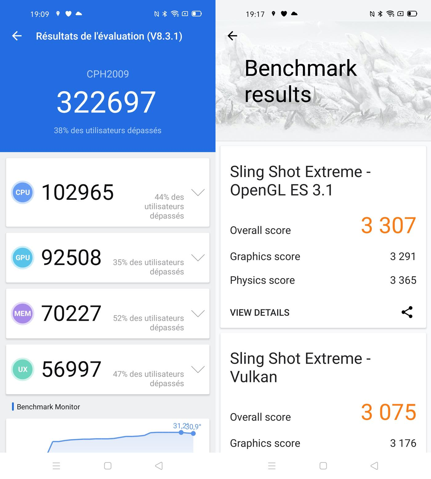 test oppo find x2 neo benchmarks