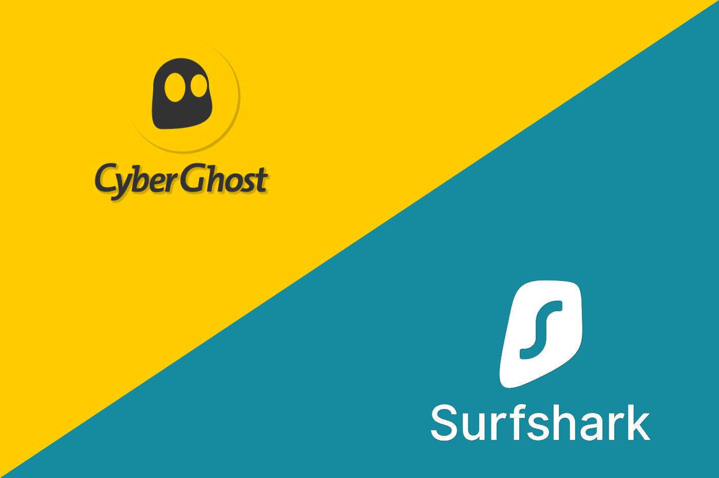 CyberGhost vs Surfshark
