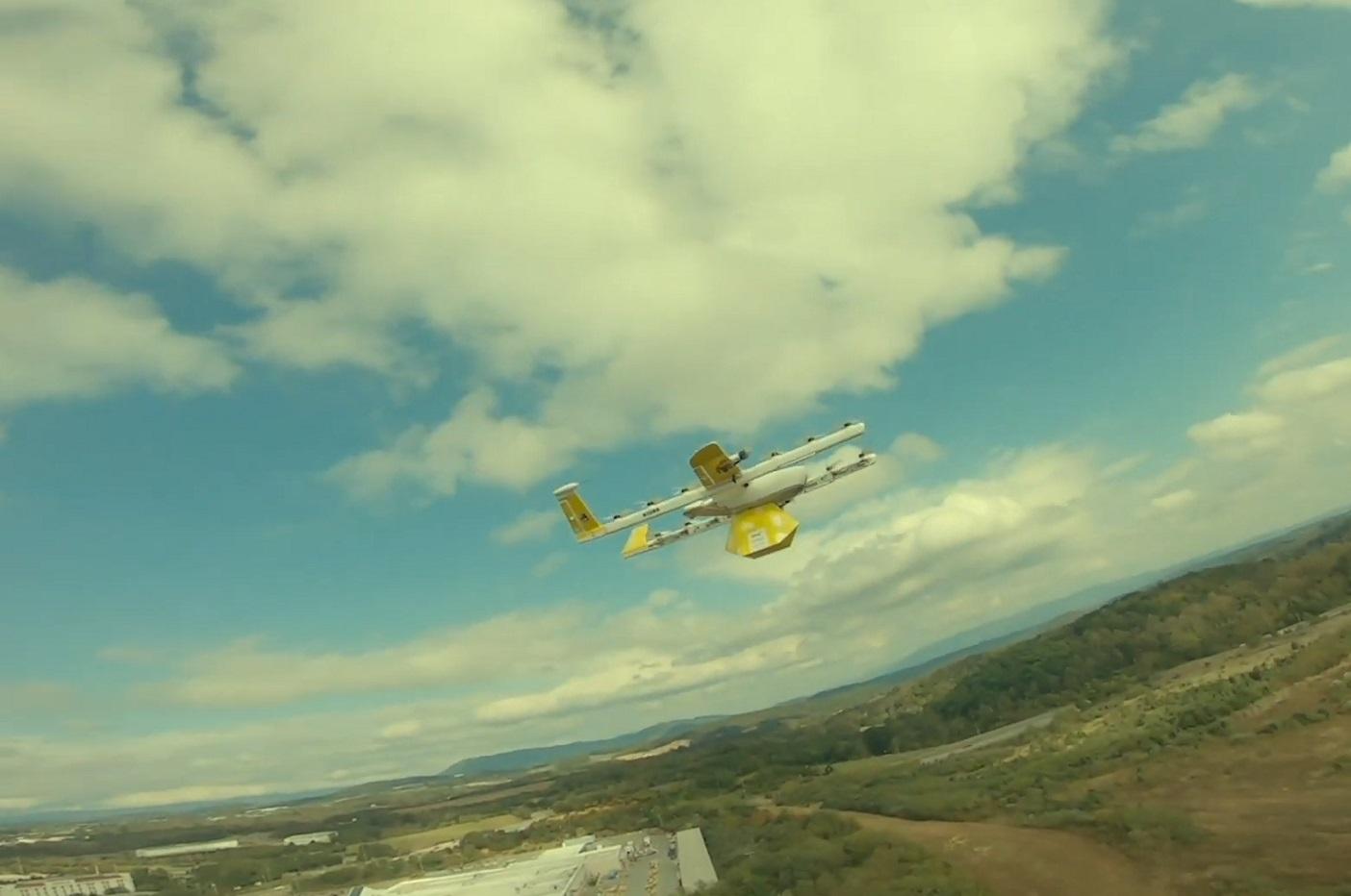 Drone de livraison de Wing