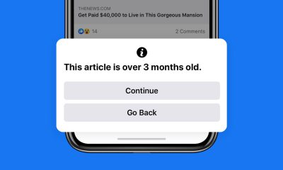 Facebook Old News