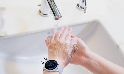 L'application de lavage des mains proposée par Samsung