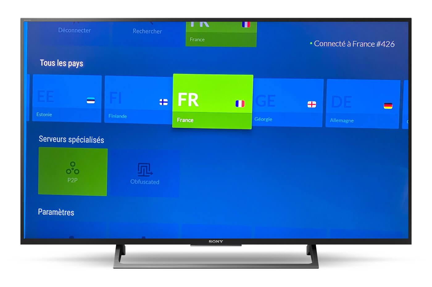 NordVPN Smart TV