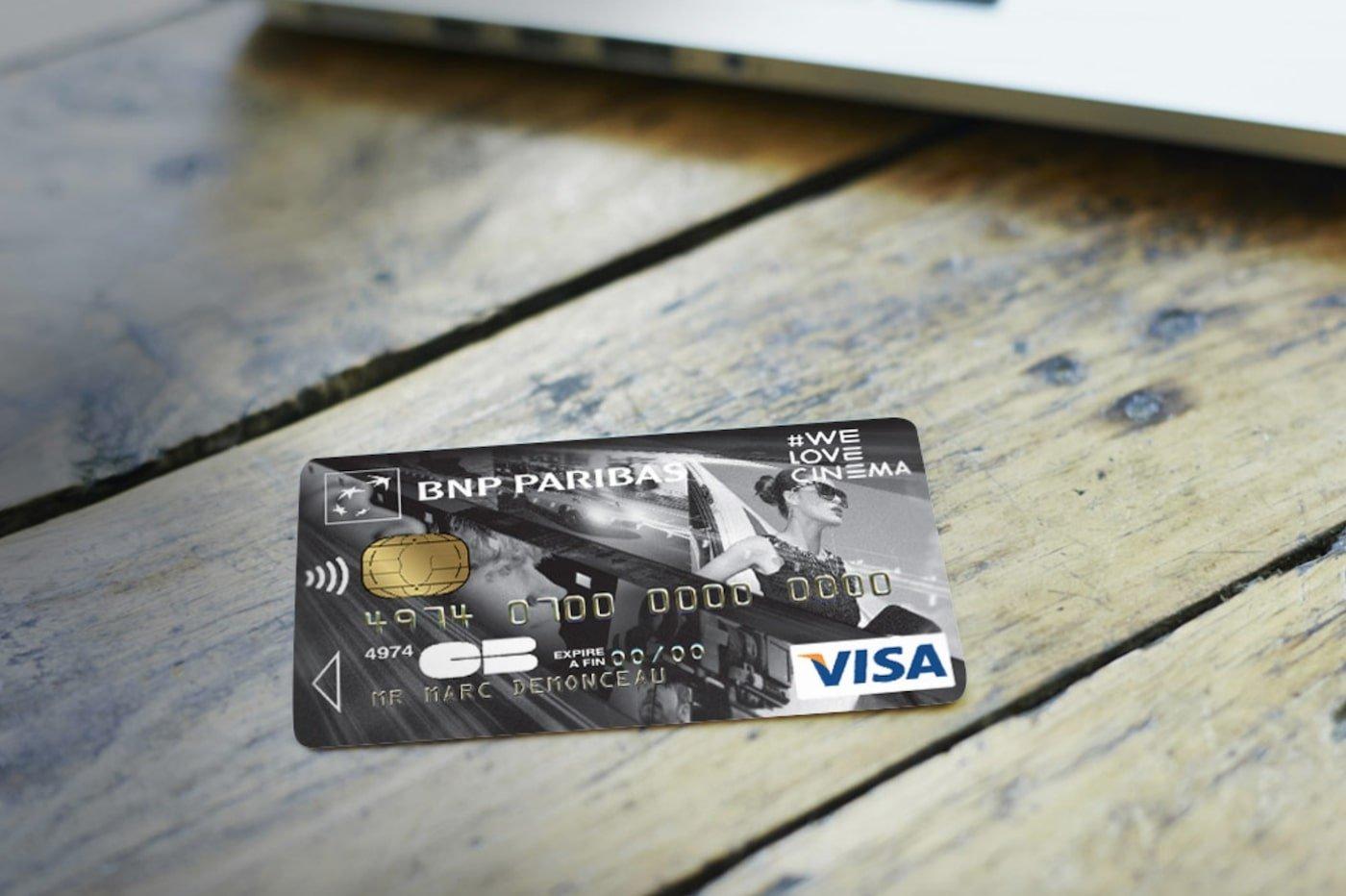 BNP Paribas carte bancaire