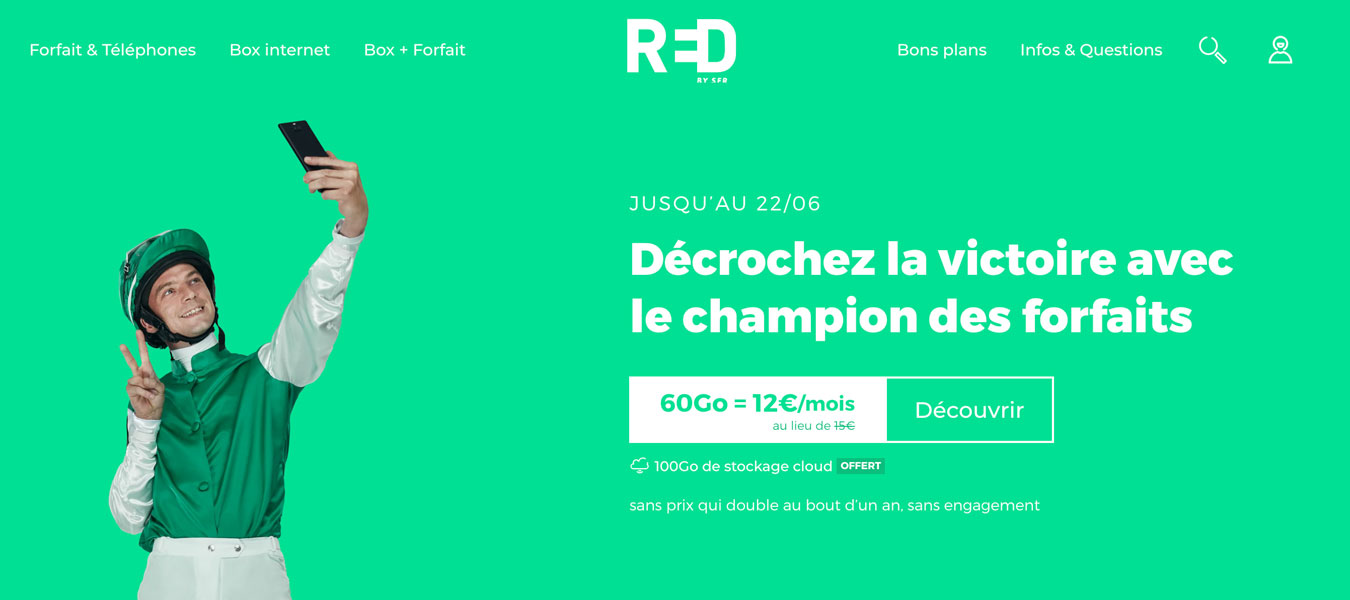Forfait RED by SFR