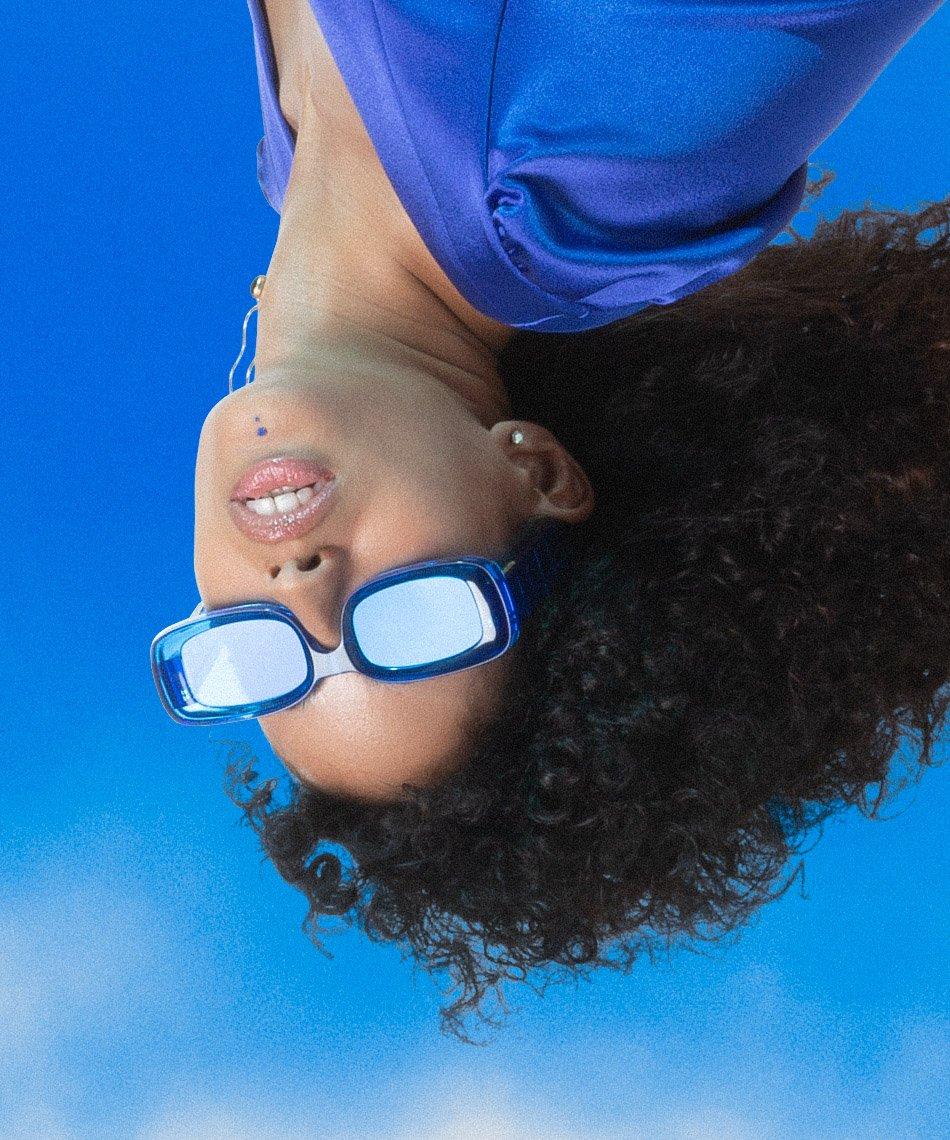 Futuremood lunettes de soleil bleu