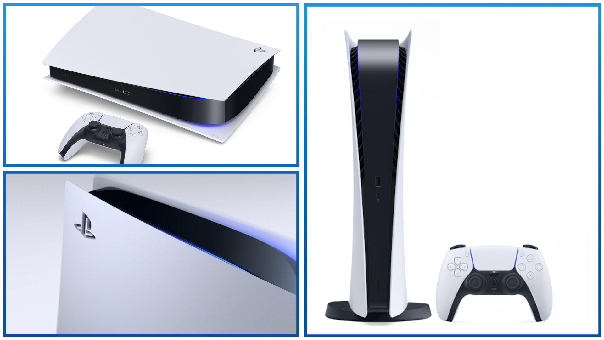 Intro Fiche PS5 Digital Edition PlayStation 5