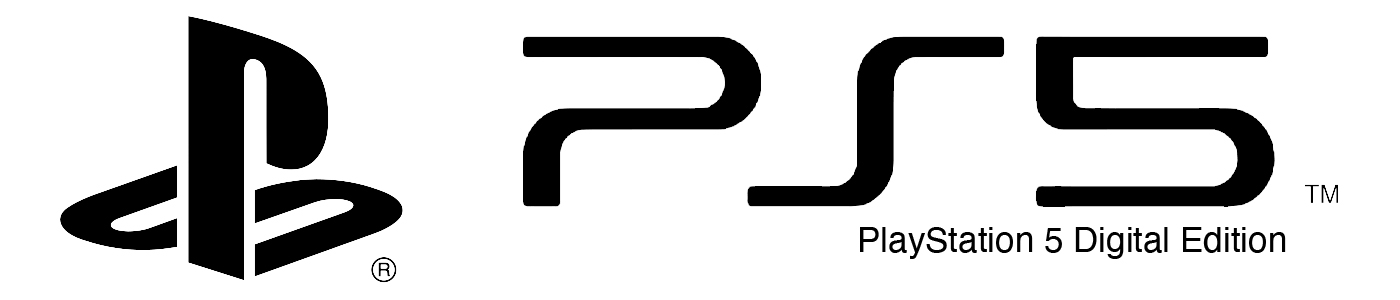 Logo PS5 Digital Edition