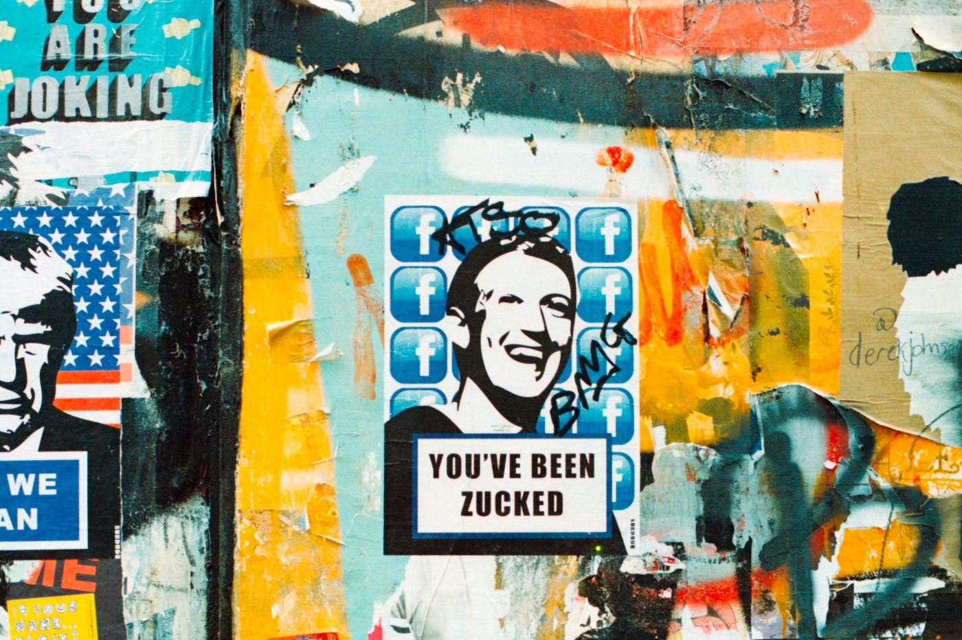 Manifestation Facebook Zuckerberg