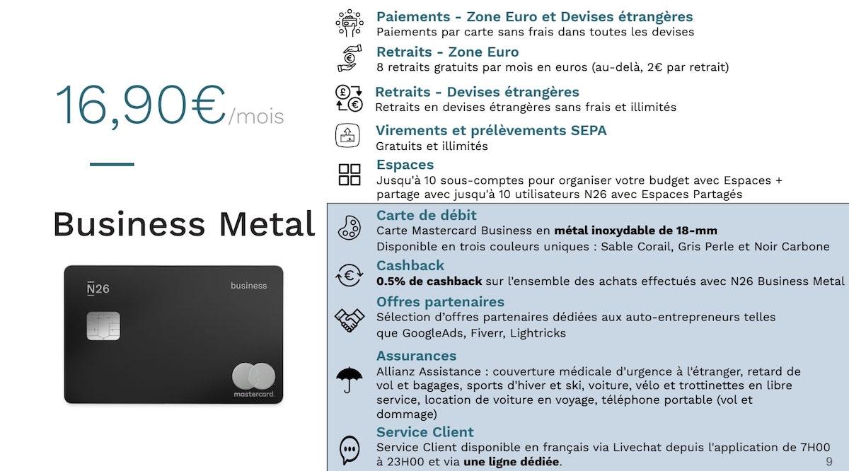 N26 Business Metal 2020