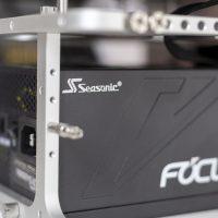 L'alimentation Seasonic FOCUS GX-550