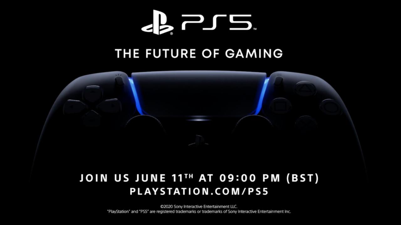 PS5 date presentation