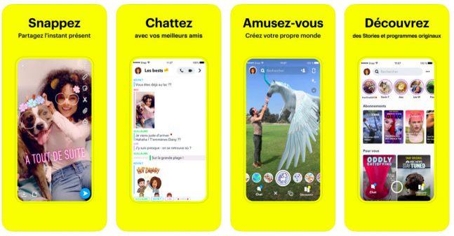 télécharger snapchat (gratuit) sur iPhone et Android