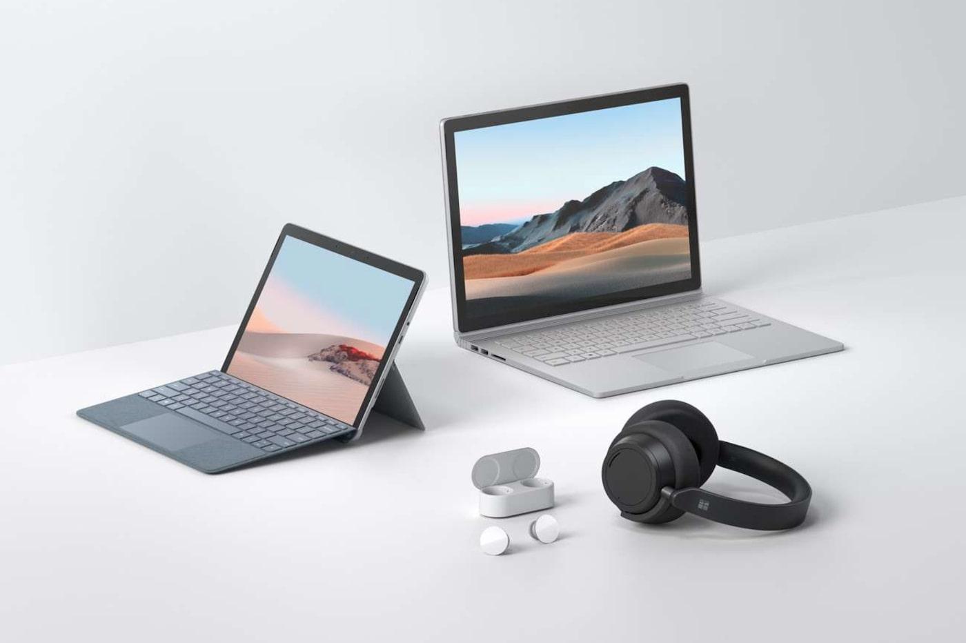 Surface Go 2 et Book 2