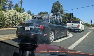Tesla prototype capteurs
