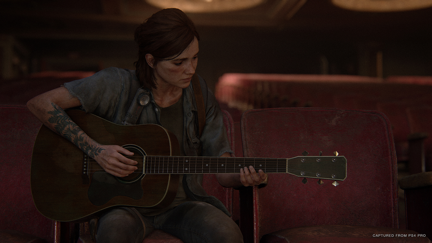 The Last Of Us Part II - Ellie Guitare