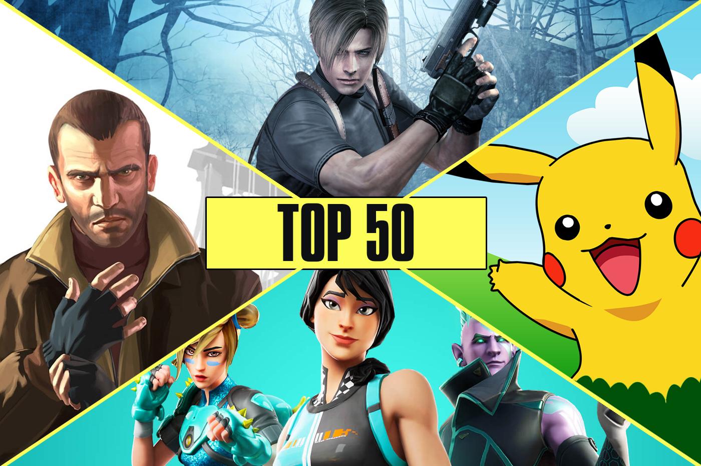 Top 50 licences jeux vidéo plus rentables