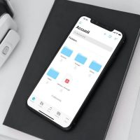 Application pCloud iOS