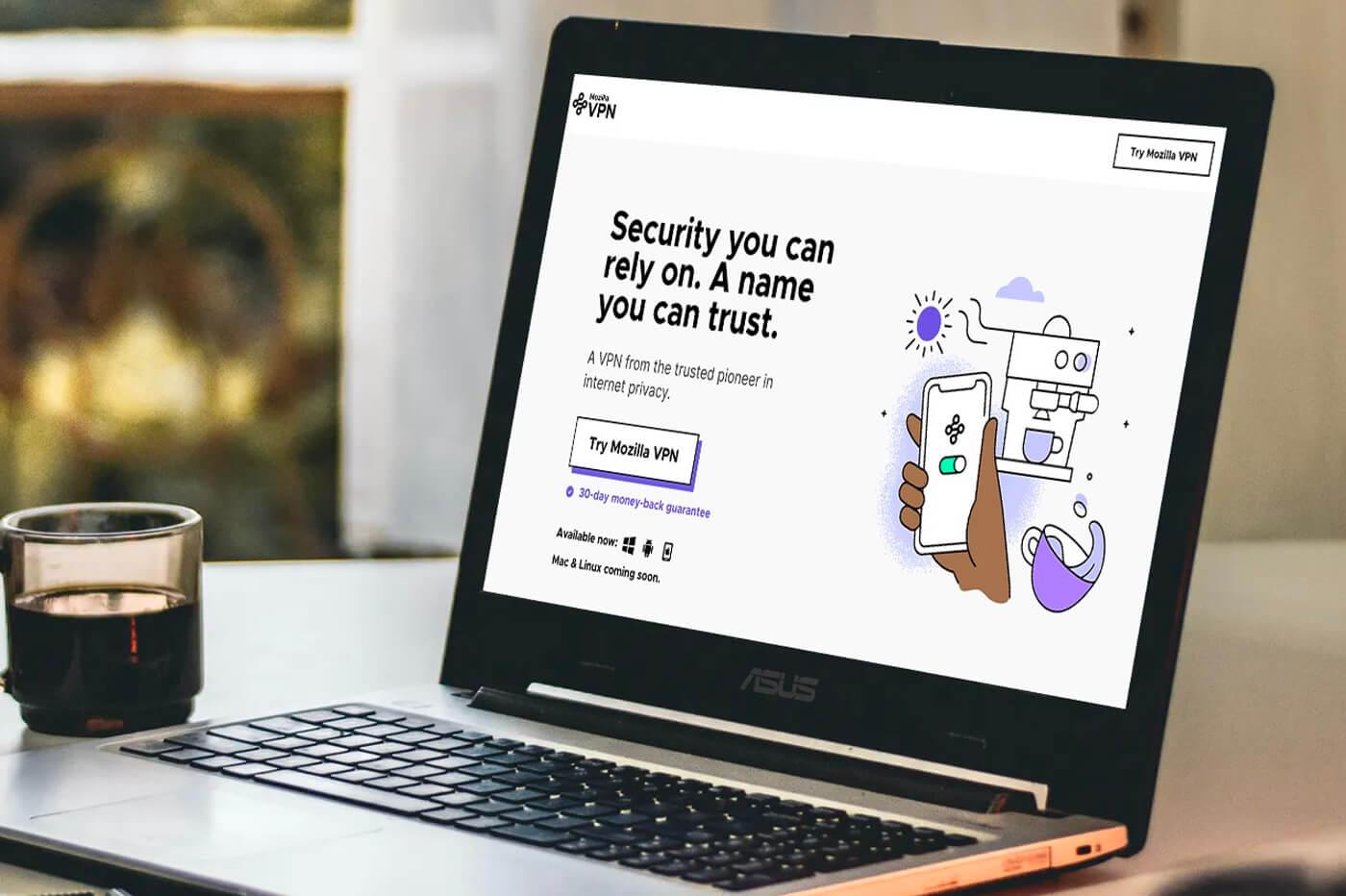 Avis Mozilla VPN
