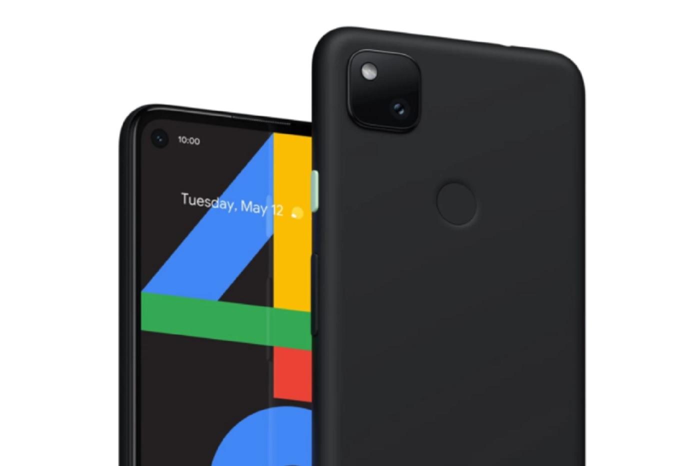 Fuite du Pixel 4a sur le site de Google