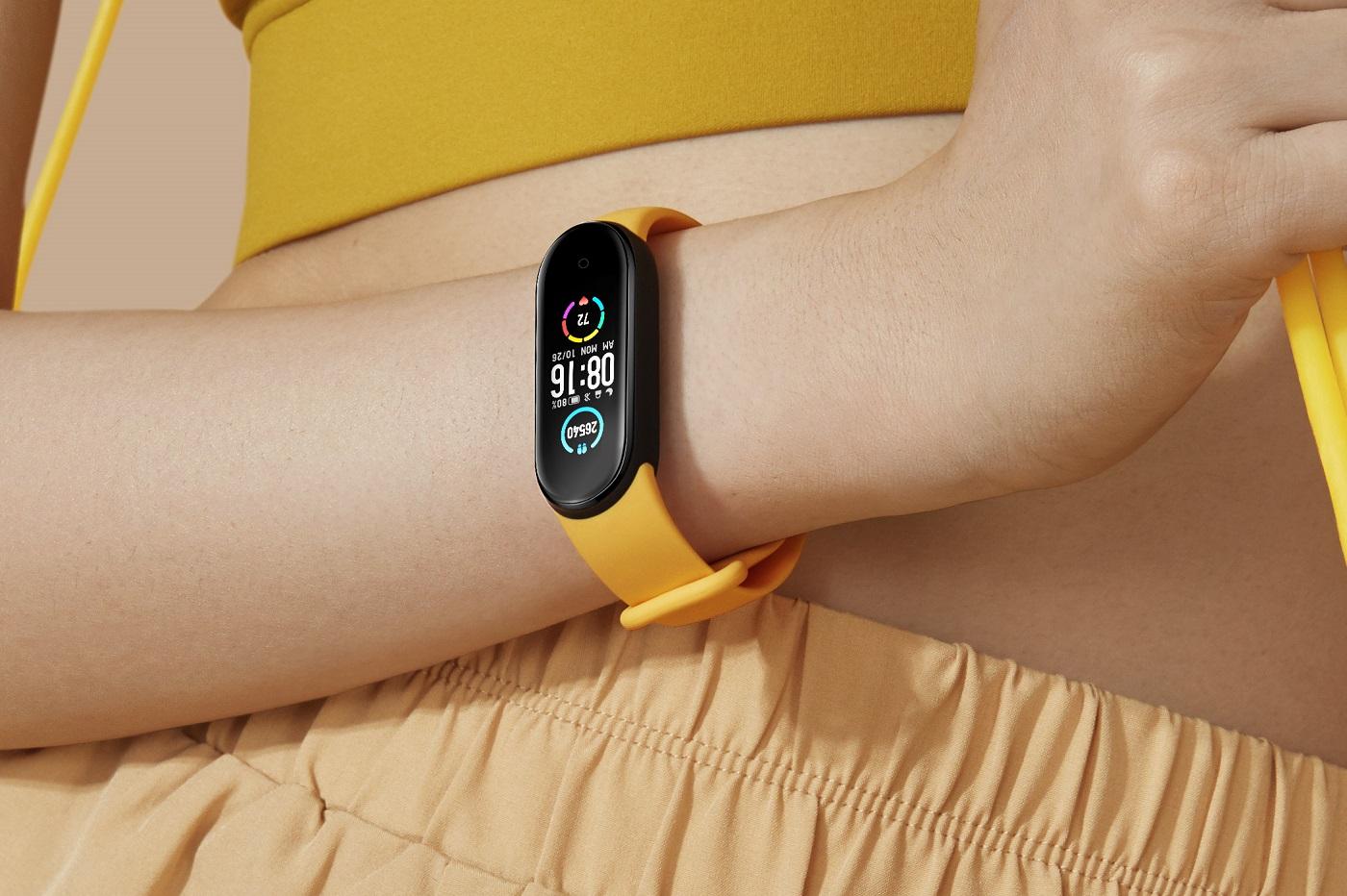 Le nouveau bracelet fitness de Xiaomi