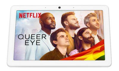 Netflix sur l'écran Nest Hub Max