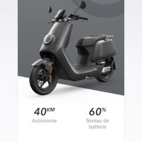 scooter électrique NIU UQi GT
