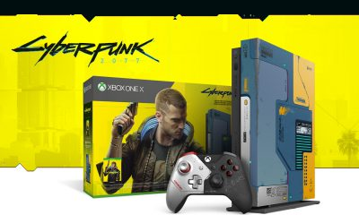 Pack Xbox One X Cyberpunk 2077