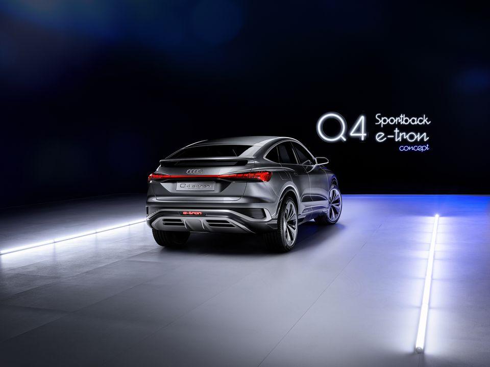 Audi Q4 etron Sportback