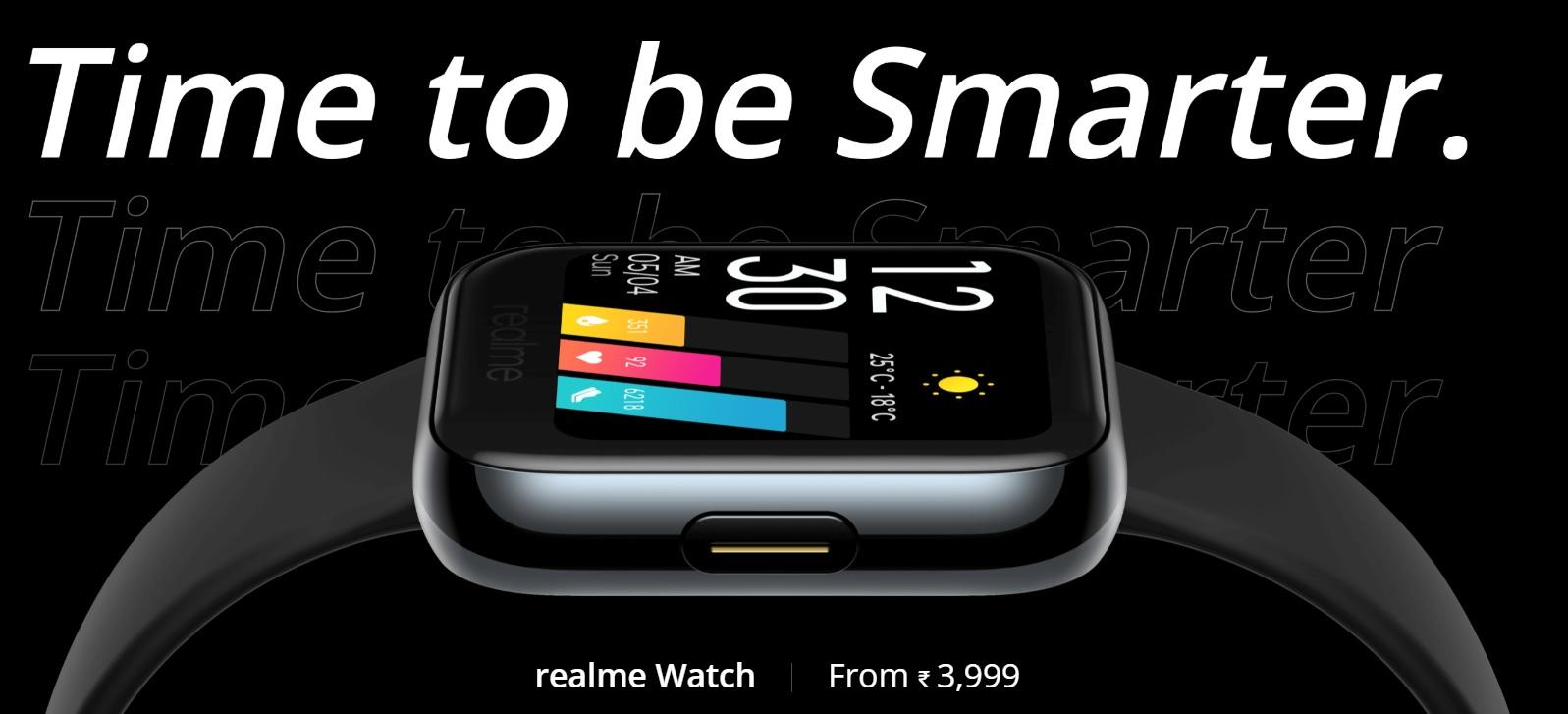 Realme Watch vendu en Inde