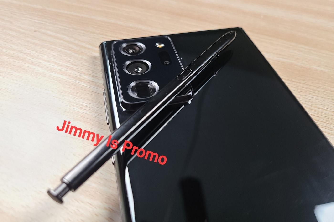 Une photo présumée du Samsung Galaxy Note 20 Ultra