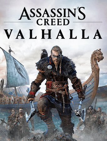 Jaquette Assassin's Creed Valhalla