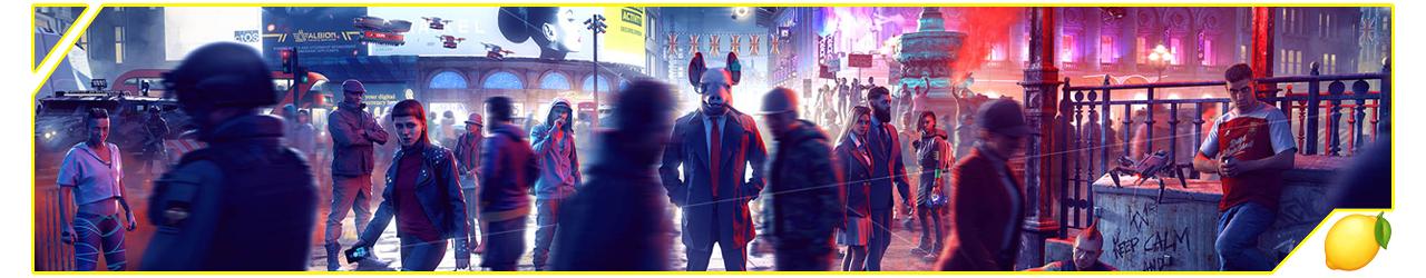 Ban Presse-citron Watch Dogs Legion