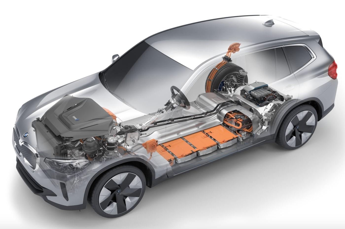 BMW iX3 batteries