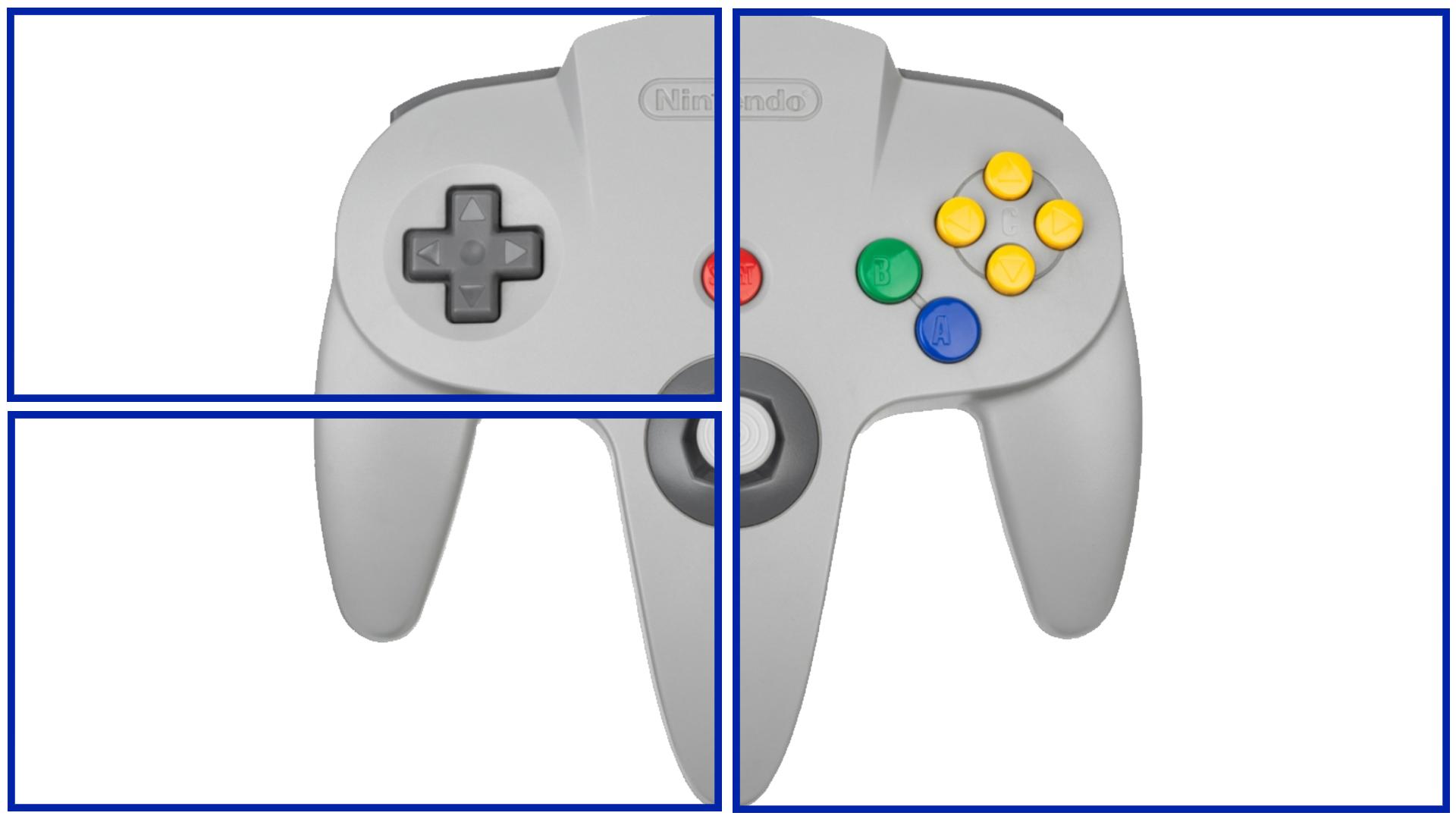 Fiche Manette Nintendo 64